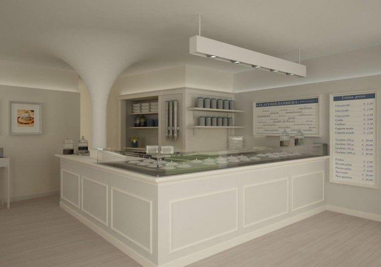 Arredamento gelateria milano arredamento negozi for Negozi arredamento milano e provincia